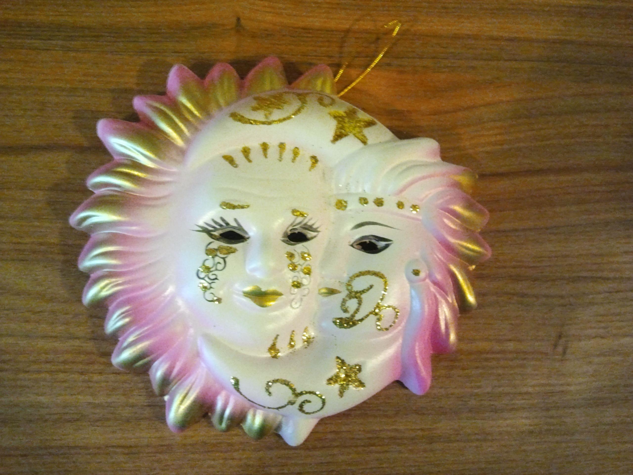 85a013788 Karnevalová maska keramická závesná1 | Tantra Ezoterika
