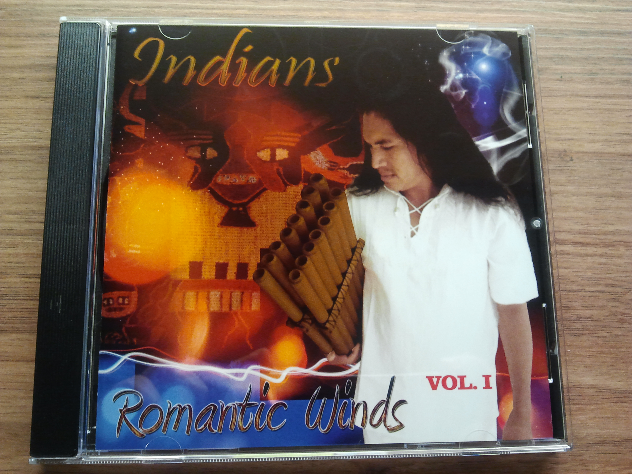 CD Indianské romantic winds